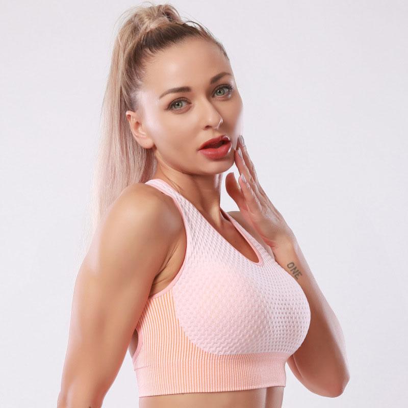 欧美爆款瑜伽服套装 搭配文胸 女无缝高腰显瘦健身运动服