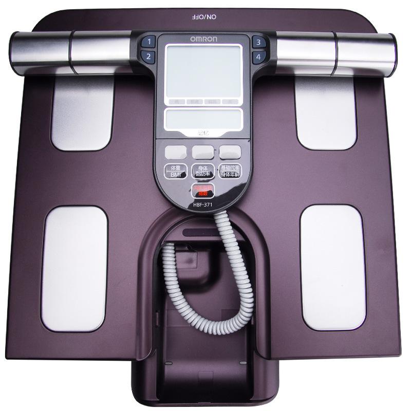 欧姆龙(OMRON) 电子秤体脂秤HBF-371脂肪测量仪体重秤